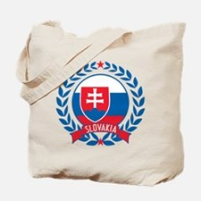 Slovakia Wreath Tote Bag