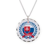 Slovakia Wreath Necklace