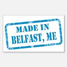 MADE IN BELFAST Sticker (Rectangle)
