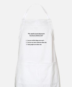 lawyers and lab rats Apron