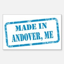 MADE IN ANDOVER Decal