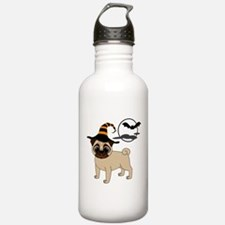 Bewitched Fawn Pug Water Bottle