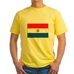 Flag of Paraguay Yellow T-Shirt