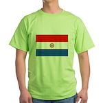 Flag of Paraguay Green T-Shirt