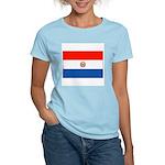 Flag of Paraguay Women's Pink T-Shirt