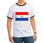 Flag of Paraguay Ringer T