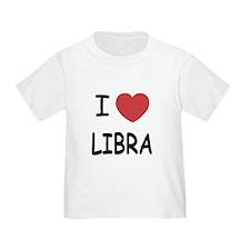I heart libra T