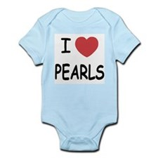 I heart pearls Infant Bodysuit