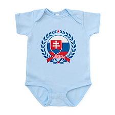 Slovakia Wreath Infant Bodysuit