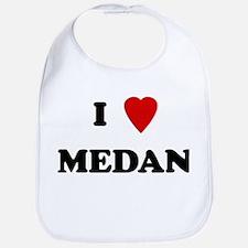 I Love Medan Bib
