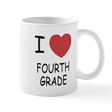 I heart fourth grade Mug