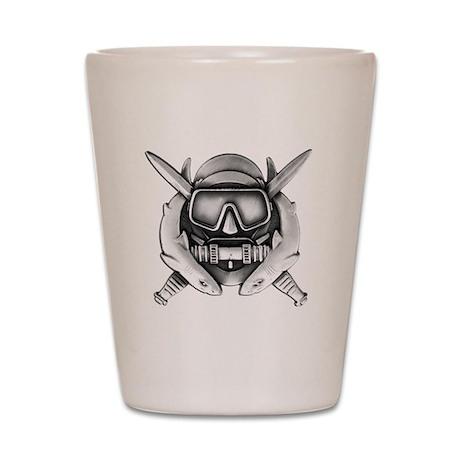 Combat Diver Shot Glass