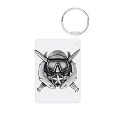 Dive Supe Aluminum Photo Keychain