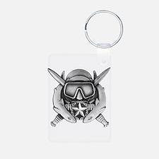 Dive Supe Aluminum Photo Keychain