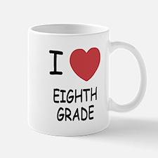 I heart eighth grade Mug