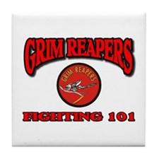 USN VF-101 GRIM REAPERS Tile Coaster