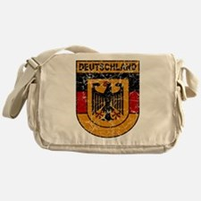 Deutschland (Germany) Shield Messenger Bag