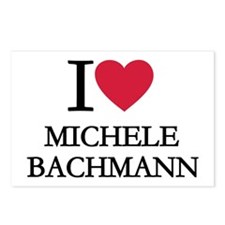 I love Michele Bachmann Postcards (Package of 8)
