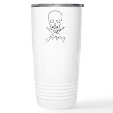 Skull X Guns Travel Mug