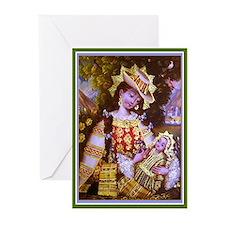 Peruvian Madonna Greeting Cards (Pk of 20)