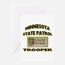 Minnesota State Patrol Greeting Card