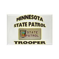Minnesota State Patrol Rectangle Magnet
