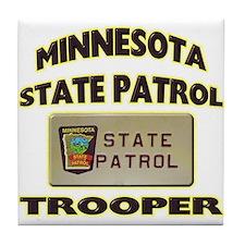 Minnesota State Patrol Tile Coaster