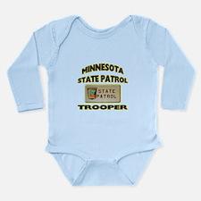 Minnesota State Patrol Long Sleeve Infant Bodysuit