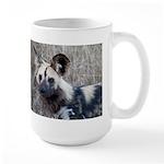 African Wild Dog Large Mug