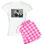 African Wild Dog Women's Light Pajamas