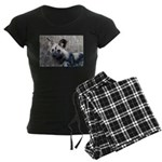 African Wild Dog Women's Dark Pajamas
