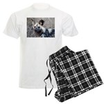 African Wild Dog Men's Light Pajamas