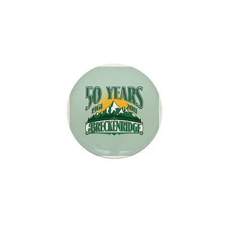 Breckenridge Green Mountain 50th Mini Button