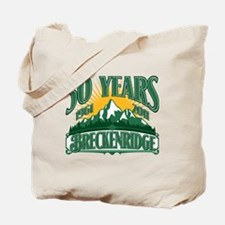 Breckenridge Green Mountain 50th Tote Bag