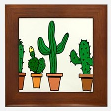 Cactus2007 Framed Tile