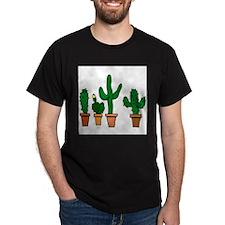Cactus2007 Black T-Shirt
