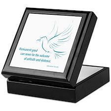 Gandi Peace Keepsake Box