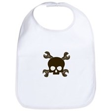 Skull & Cross-Wrenches Bib