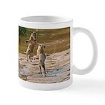 Lions Playing in Water Mug