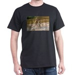 Lions Playing in Water Dark T-Shirt
