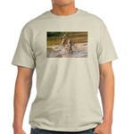 Lions Playing in Water Light T-Shirt