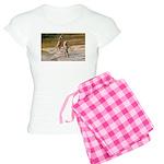 Lions Playing in Water Women's Light Pajamas