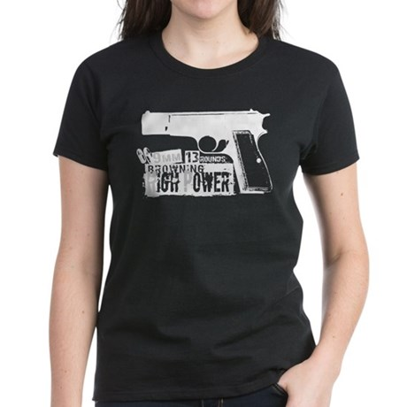Browning Hi-Power Women's Dark T-Shirt