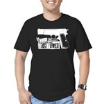 Browning Hi-Power Men's Fitted T-Shirt (dark)