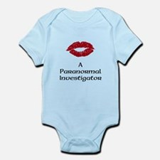 Kiss A Paranormal Investigato Infant Bodysuit