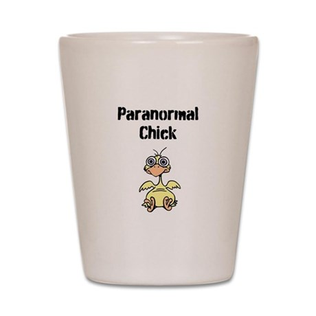 Paranormal Chick Shot Glass