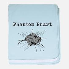 Phantom Phart baby blanket