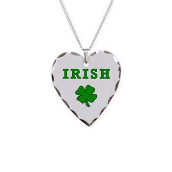 Irish Heart Charm Necklace