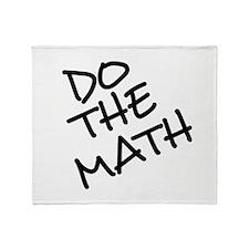Do The Math! Throw Blanket