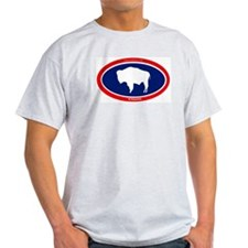 Wyoming Buffalo T-Shirt